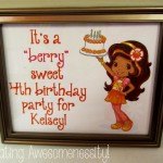 Strawberry Shortcake and Friends: Orange Blossom Birthday Party