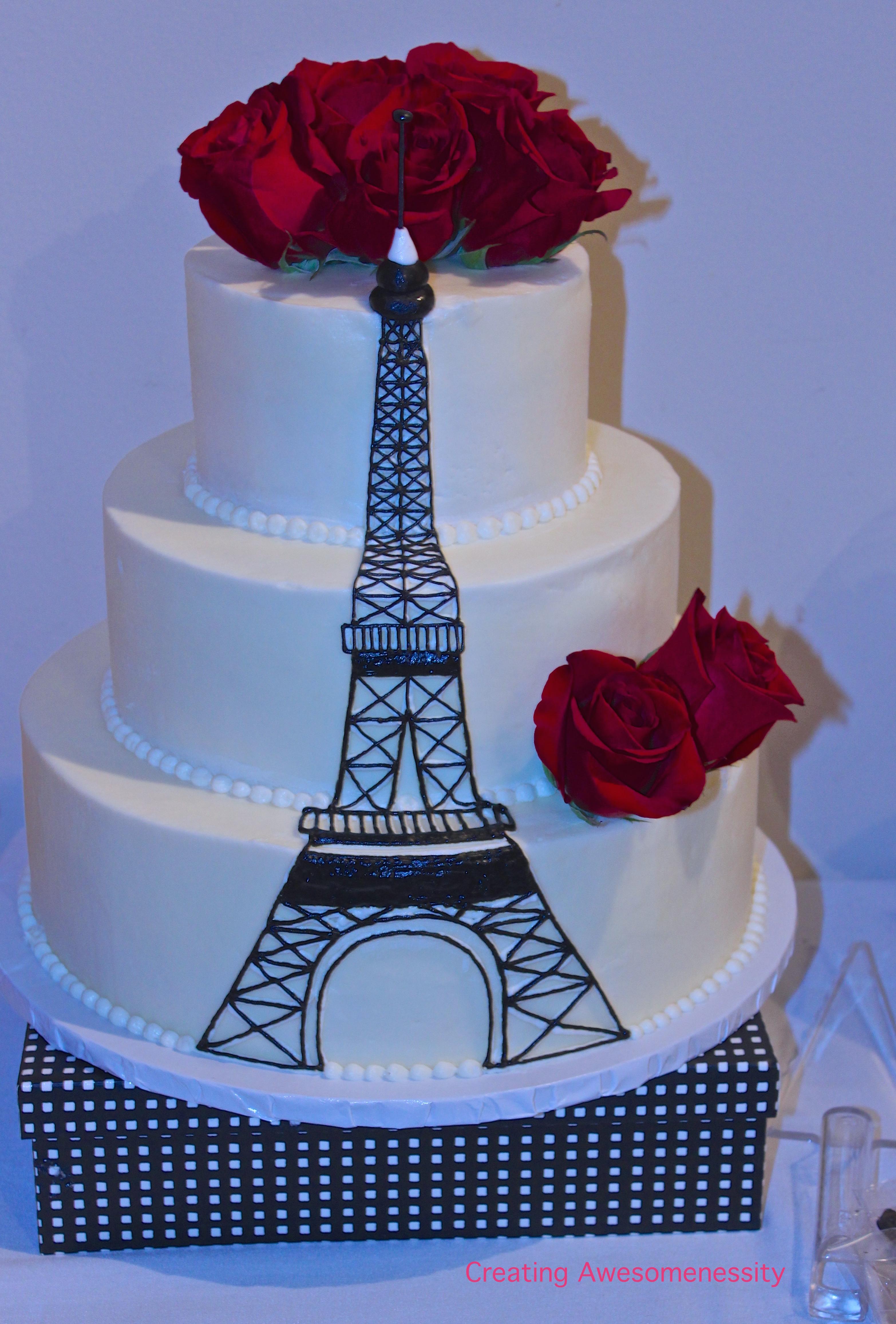 Parisian Inspired Dessert Table