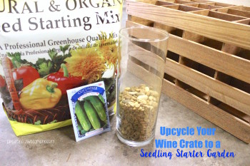 Make It Healthy: How to Upcycle A Wine Crate
