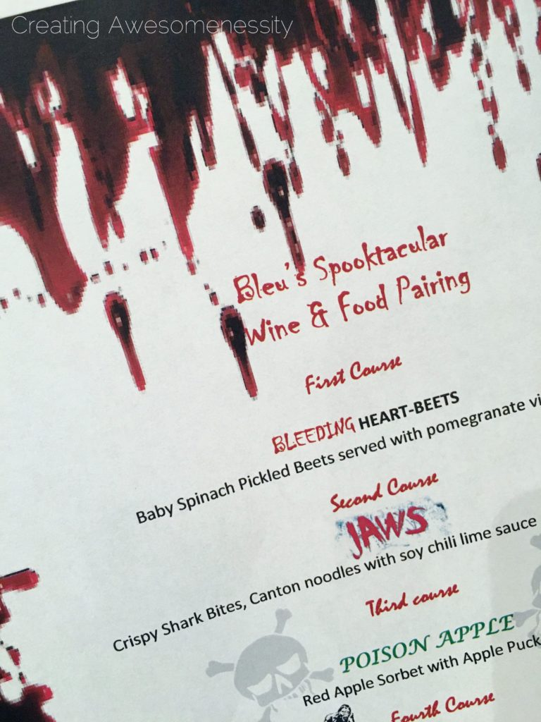 Date Night at the Westin Beale: Spooktacular Wine & Food Pairing